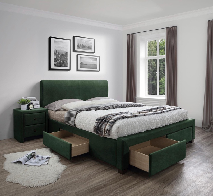 Halmar Modena 3 Bed 160 Green