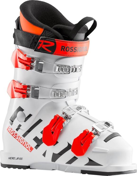 Rossignol Hero Jr 65 Kids Ski Boots White 24.5