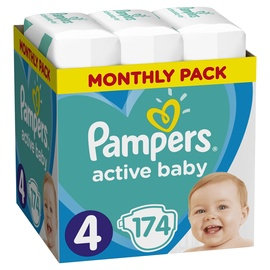 Pampers Active Baby S4 174