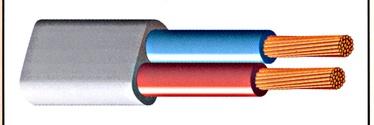 Lietkabelis BVV-PL, 2 x 2,5 mm²
