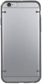 Mocco Frame Plastic Back Case For Samsung Galaxy Note 5 Transparent/Black