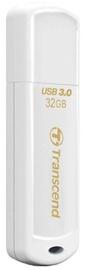 USB atmiņas kartes Transcend JetFlash 730 White, USB 3.0, 32 GB