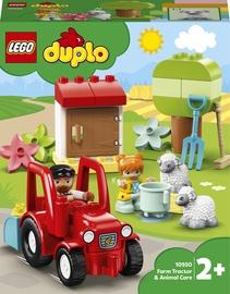 Конструктор LEGO Duplo Фермерский трактор и животные 10950, 27 шт.
