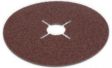 Шлифовальный диск Kreator, G80, 125 мм, 5 шт.