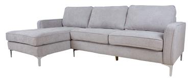 Угловой диван Home4you Rollo, песочный, 149 x 271 x 87 см