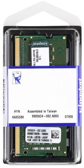 Operatīvā atmiņa (RAM) Kingston KVR26S19S8/8 DDR4 (SO-DIMM) 8 GB CL19 2666 MHz