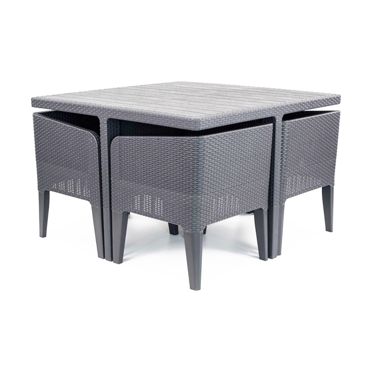Комплект уличной мебели Keter Columbia 5 Gray