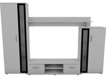Комплект мебели для гостиной Top E Shop Bemi, белый