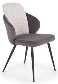 Halmar K408 Chair Light/Dark Grey
