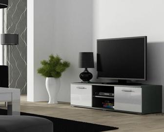 ТВ стол Cama Meble Soho 140, белый/серый, 1400x430x370 мм