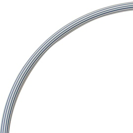Vingrošanas loks Yate Hoop 60cm, 600 mm, balta/pelēka