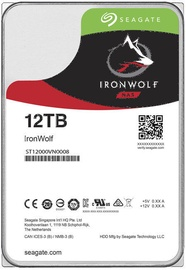 Seagate IronWolf HDD NAS 12TB 7200RPM SATAIII 256MB ST12000VN0008