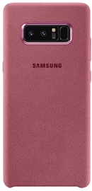 Samsung Alcantara Back Cover For Samsung Galaxy Note 8 Pink