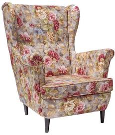 Atzveltnes krēsls Signal Meble Scandinavian Lord, daudzkrāsains, 72 cm x 85 cm x 101 cm