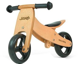 Balansēšanas velosipēds Milly Mally Ride On 2in1 Jake Natural
