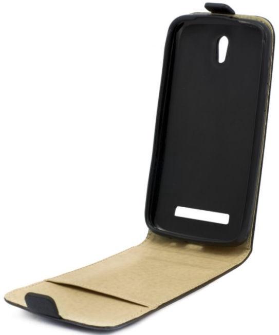 Telone Shine Vertical Book Case For HTC Desire 530/626/630 Black