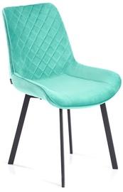 Ēdamistabas krēsls Homede, gaiši zila