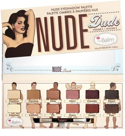 TheBalm Nude Dude Volume 2 Eyeshadow Palette 9.6g