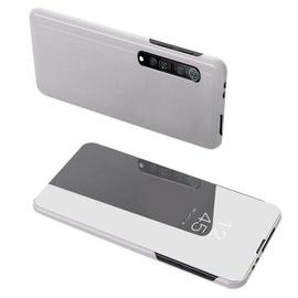 Hurtel Clear View Case For Xiaomi Mi Note 10 Lite Silver