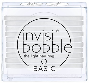 Резинка для волос Invisibobble Basic Light Hair Rings 10pcs Crystal Clear