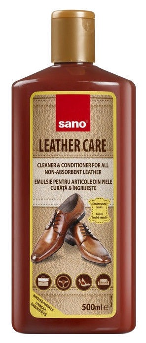 Sano Leather Care Cleaner & Conditioner 500ml