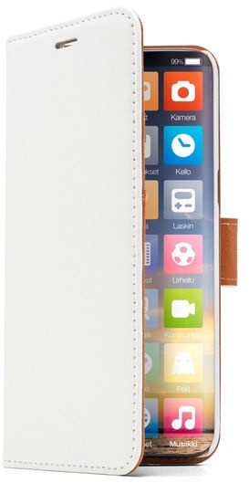 Screenor Smart Wallet Case For Samsung Galaxy A6 White