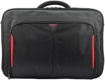 Targus Classic+ Clamshell Laptop Bag 17-18 Black/Red