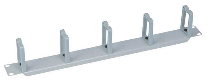 LogiLink Cable Organizer Panel 19'' 1U Grey
