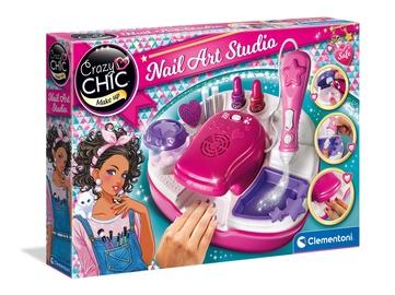 Rotaļlietu skaistumkopšanas komplekts Clementoni Crazy Chic Nail Art Studio