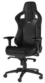 Spēļu krēsls Noblechairs EPIC Real Leather Black