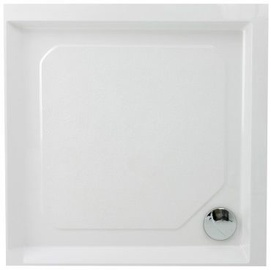Paa Classic CL KV 80 Shower Tray w/ Panel White