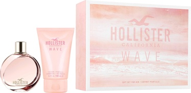 Hollister Wave For Her 100ml EDP + 100ml Shower Gel