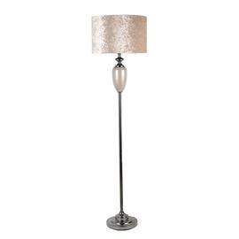 Home4you Luxo Standing Lamp 170cm Cream/Dark Grey