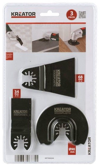 Kreator Blade Set 3pcs