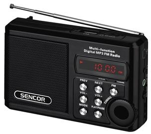 Mobilais radiouztvērējs Sencor Pocket Receiver SRD 215 Black