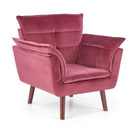 Atzveltnes krēsls Halmar Rezzo Maroon, 73x80x84 cm