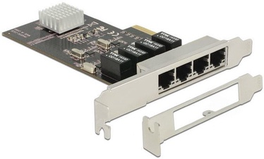 Delock PCIe 4 x RJ45 Gigabit