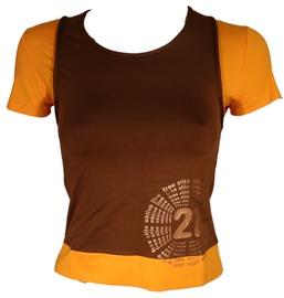 Bars Womens T-Shirt Brown/Yellow 134 S