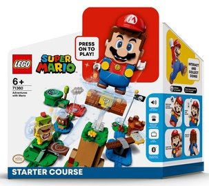 Konstruktors LEGO Super Mario Piedzīvojumi ar Mario: sākuma maršruts 71360, 231 gab.