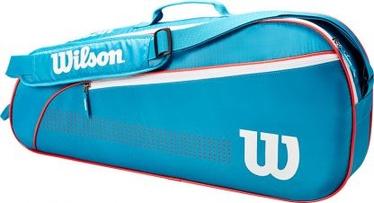 Спортивная сумка Wilson Wilson Junior 3 Pack, синий/белый/красный