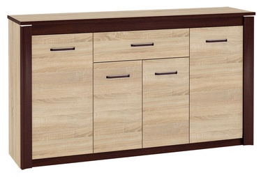 ML Meble Oliwier 09 Chest Of Drawers Sonoma Oak/Wenge