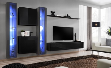 ASM Switch XVI Wall Unit Black/Graphite