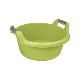 Curver Round Bowl With Handles 27L Green