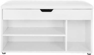 Apavu plaukts Songmics White, 800x300x440 mm