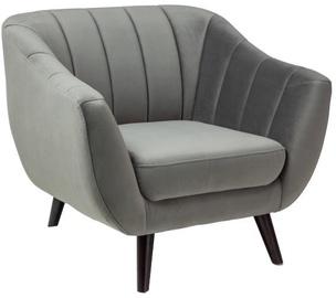 Atzveltnes krēsls Signal Meble Elite Velvet 1 Grey, 83x68x91 cm