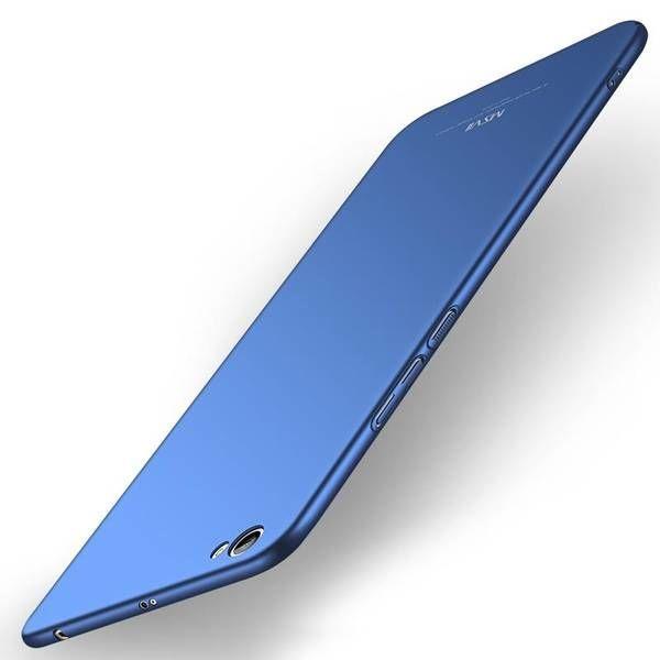 MSVII Simple Back Case For Xiaomi Redmi Note 5A Blue