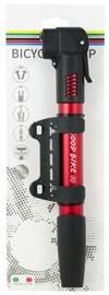 Good Bike Mini Dual Aluminium Pump Red