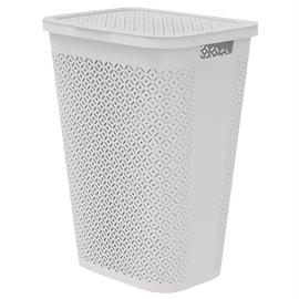 Veļas kaste Curver Terrazzo Laundry Basket 55 l White