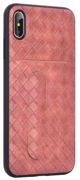 Devia iWallet Back Case For Apple iPhone XS Max Pink