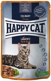 Влажный корм для кошек (консервы) Happy Cat Culinary Meat In Souce Duck 85g